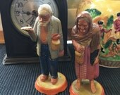 Mexican Pottery Peasant Couple