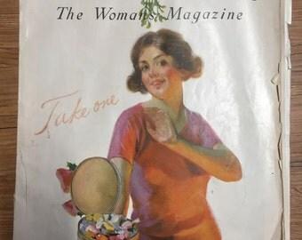 1920s Vintage Designer Women's Magazine
