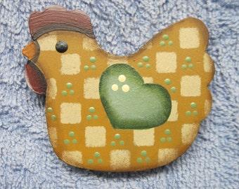 Chicken Magnet - Green