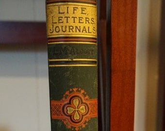 Antique 1890 / Life Letters and Journals Louisa M Alcott
