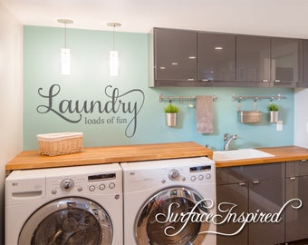 Delightful Laundry Room Decals | Etsy Part 11