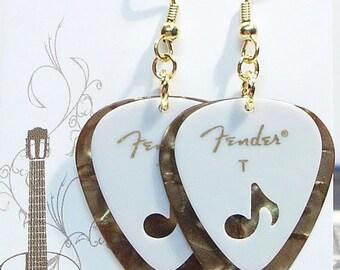 Fender Music - Fender 8th Notes - Fender Guitar Pick Earrings
