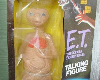 ET the Extra Terrestrial talking figure