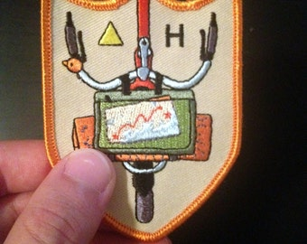 Bicycle Camping Patch