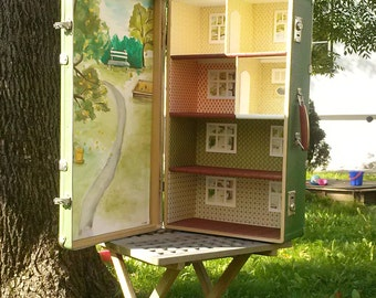 Green from Kalamaja -Travelling Dollhouse