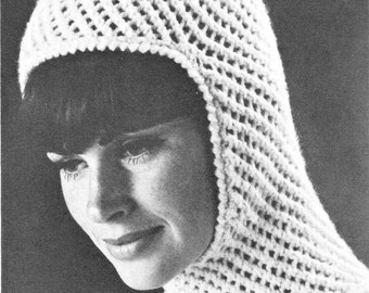 Ladies Balaclava Knitting Pattern : Womens balaclava Etsy