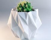cubist polygon small succulent planter - 3.5 Inch