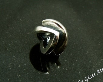 Victorious European Charm Bead fits Trollbeads  BHB Sterling Silver