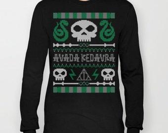 The Dark Sweater Long Sleeve Tee or Sweatshirt