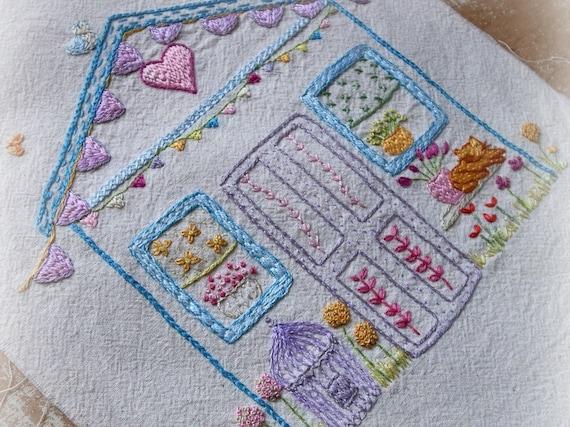 My wonky shed embroidery pattern pdf