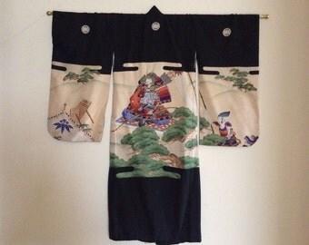 Vintage Japanese Chid Kimono