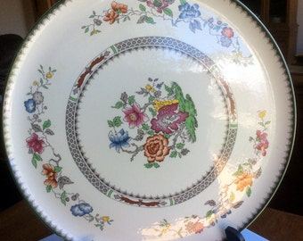 Spode Chinese Rose Earthenware 2/9253 Large Serving Plate - Cake