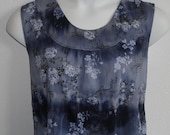 S-3X - Post Surgery Clothing - Shoulder Surgery Shirt / Rehab/ Heart Surgery / Breast Cancer / Hospice / Stroke/ Breastfeeding  - Style Sara