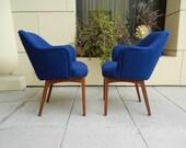 PAIR Knoll Arm Chairs