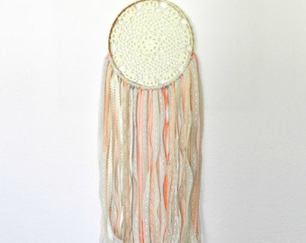 Large Dream Catcher - Dream Catcher Wall Hanging - Dreamcatcher - Bohemian Dream Catcher - Lace Dream Catcher - Bohemian Wall Tapestry