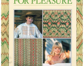 Smocking For Pleasure Easy Step-by-step Instructions For Smocking at Home by Madeline Bird & Margie Prestedge