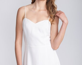 White Maxi Dress Summer Infinity Beach Wedding Classic