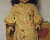 Clearance! 60% off all American Girl Doll Clothes! Native American Doll Dress - Was 15.00, now 6.00!