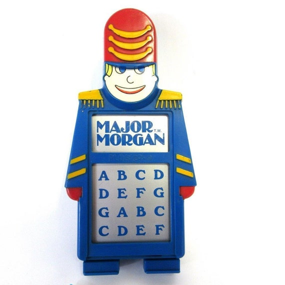 Vintage Major Morgan Playskool Music Organ Toy Works Circuit