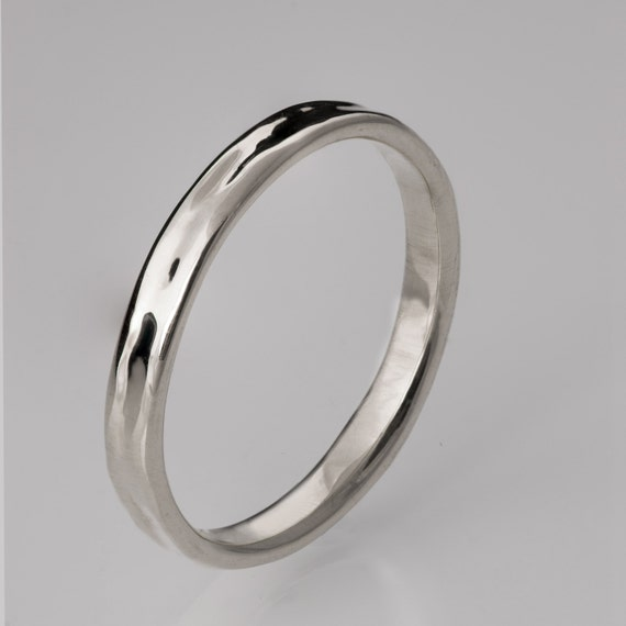 simple platinum wedding band platinum ring by doronmerav
