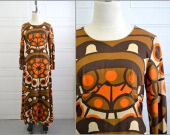 1970s Kaisu Heikkilä Maxi Dress