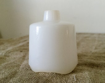 Vintage milk glass pie funnel / vent. My vintage home.