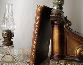 Antique Poetry Book Laus Veneris and Other Poems Algernon Charles Swinburne Published by Doxey's At The Sign Of The Lark Leather Book 1905