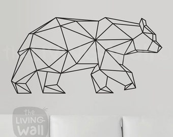 Geometric Wall Art geometric animal | etsy