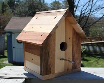 Multi wood bird house