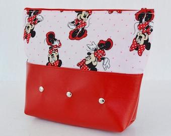 Minnie's Pink Parade Makeup Bag