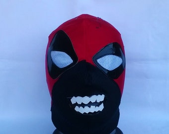 Zombie Deadpool Wrestling style Mask Mardi Gras day of the dead halloween party masks Horror masquerade Classic Lucha Libre heros