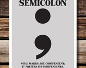 Respect Punctuation: Semicolon