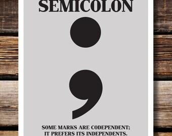 Respect Punctuation: Semicolon
