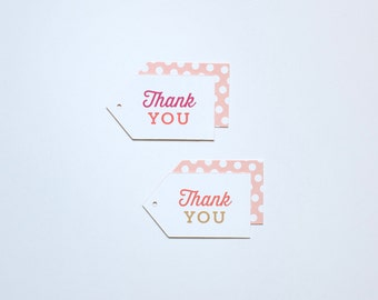 Thank You Baby Gift Tags - 18 pack