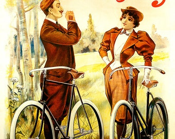 Humber Cycles Bicycle Poster (#1261) 6 sizes