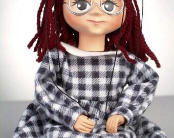 Manicka Czech Handmade Marionette Puppet