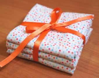 Organic Cotton Handkerchiefs, set of 3