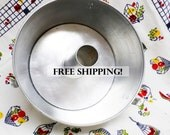 Comet Aluminum Angel Cake Pan Large Fluted Bundt Free Shipping!