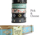 Personalized Dog Collar in Pick and Choose Ribbon