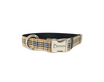 Personalized Preppy Dog Collar
