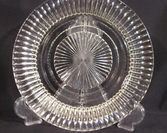 Queen Mary Salad Plate by Hocking Glass Company