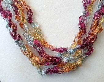 Horizon - Hand Crocheted Necklace