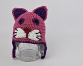 Hand Crochet Cat Hat: Mad...