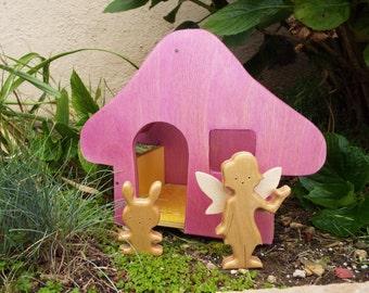 Fairy House Playset Kit with Fairy & Friend