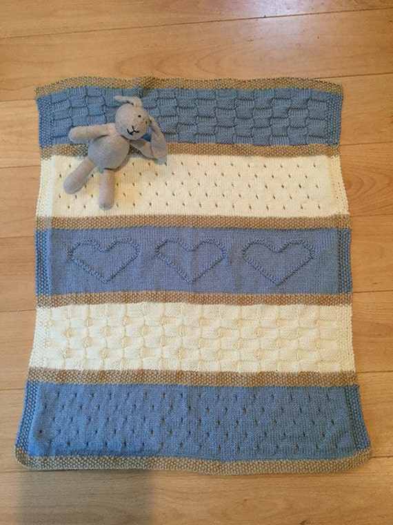 Baby Blanket Pattern Knit Baby Blanket Pattern Heart