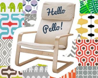 IKEA PELLO Slipcover, Multiple Prints