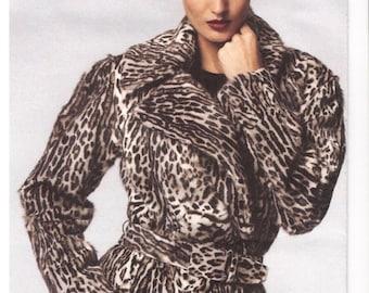 Donna Karan coat pattern -- Vogue American Designer 1365