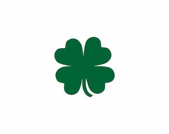 Saint Patricks Day Svg, Clover Svg, shamrock Svg, Four Leaf Svg, Clover Leaf Svg, Cricut Cut Files, Silhouette Cut Files
