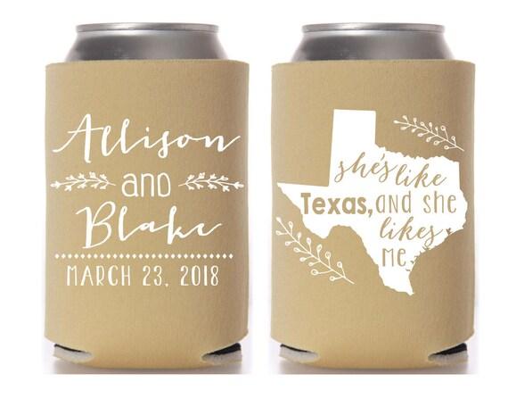 Me To You Wedding Gifts: Wedding Favors She's Like Texas And She Likes Me Wedding