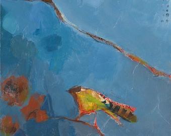 Three Birds Original Painting